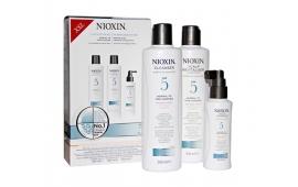 Ниоксин набор Система 5 (средний) (шампунь 300 ml.+кондиционер 300 ml.+маска 100 ml.)