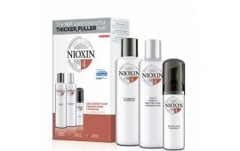 Ниоксин набор Система 4 (средний) (шампунь 300 ml.+кондиционер 300 ml.+маска 100 ml.)