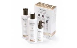 Ниоксин набор Система 3 (мал.) (шампунь 150 ml.+кондиционер 150 ml.+маска 50 ml.)