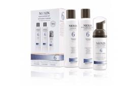 Ниоксин набор Система 6 (шампунь 150 ml.+кондиционер 150 ml.+маска 40 ml.)