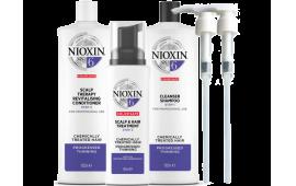 Ниоксин набор Система 6 (большой с дозаторами) (шампунь 1000 ml.+кондиционер 1000 ml.+маска 100 ml.+2дозатора)