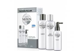 Ниоксин набор Система 1 (средний) (шампунь 300 ml.+кондиционер 300 ml.+маска 100 ml.)