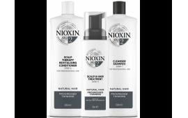 Ниоксин набор Система 2 большой (шампунь 1000 ml.+кондиционер 1000 ml.+маска 100 ml.)