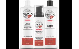 Ниоксин набор Система 4 большой (шампунь 1000 ml.+кондиционер 1000 ml.+маска 100 ml.)