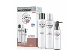 Ниоксин набор Система 3 (средний) (шампунь 300 ml.+кондиционер 300 ml.+маска 100 ml.)