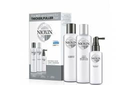 Ниоксин набор Система 1 (шампунь 150 ml.+кондиционер 150 ml.+маска 50 ml.)