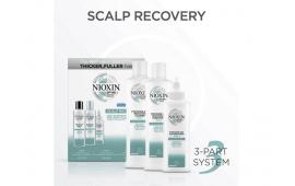 Ниоксин набор против перхоти (Шампунь 200 ml.+Кондиционер 200 ml.+Сыворотка 100 ml.) Nioxin Scalp Recovery Kit