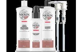 Ниоксин набор Система 3 (большой с дозаторами) (шампунь 1000 ml.+кондиционер 1000 ml.+маска 100 ml. +2 дозатора)
