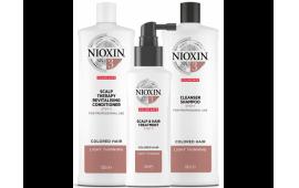 Ниоксин набор Система 3 большой (шампунь 1000 ml.+кондиционер 1000 ml.+маска 100 ml.)