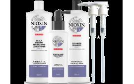 Ниоксин набор Система 5 (большой с дозаторами) (шампунь 1000 ml.+кондиционер 1000 ml.+маска 100 ml.+2дозатора)