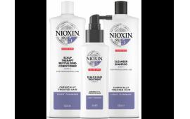 Ниоксин набор Система 5 большой (шампунь 1000 ml.+кондиционер 1000 ml.+маска 100 ml.)