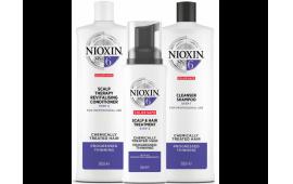 Ниоксин набор Система 6 большой (шампунь 1000 ml.+кондиционер 1000 ml.+маска 100 ml.)